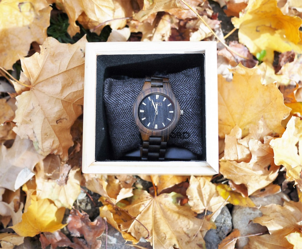 jord watch made of wood
