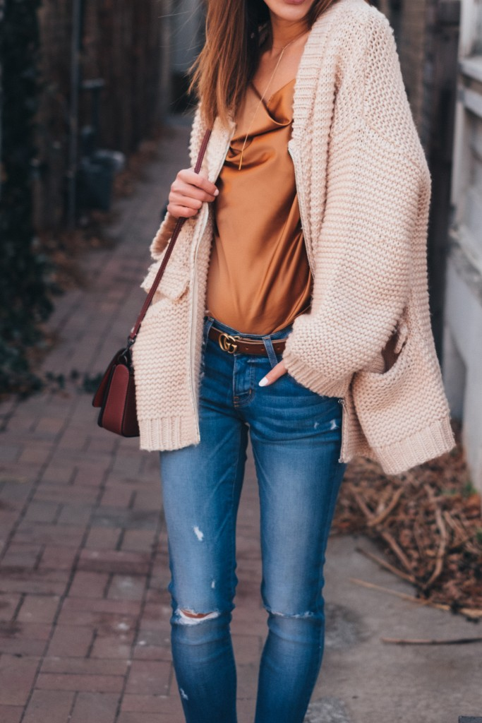 easy elegance, style inspiration, chicibiki, chunky knit, casual chic