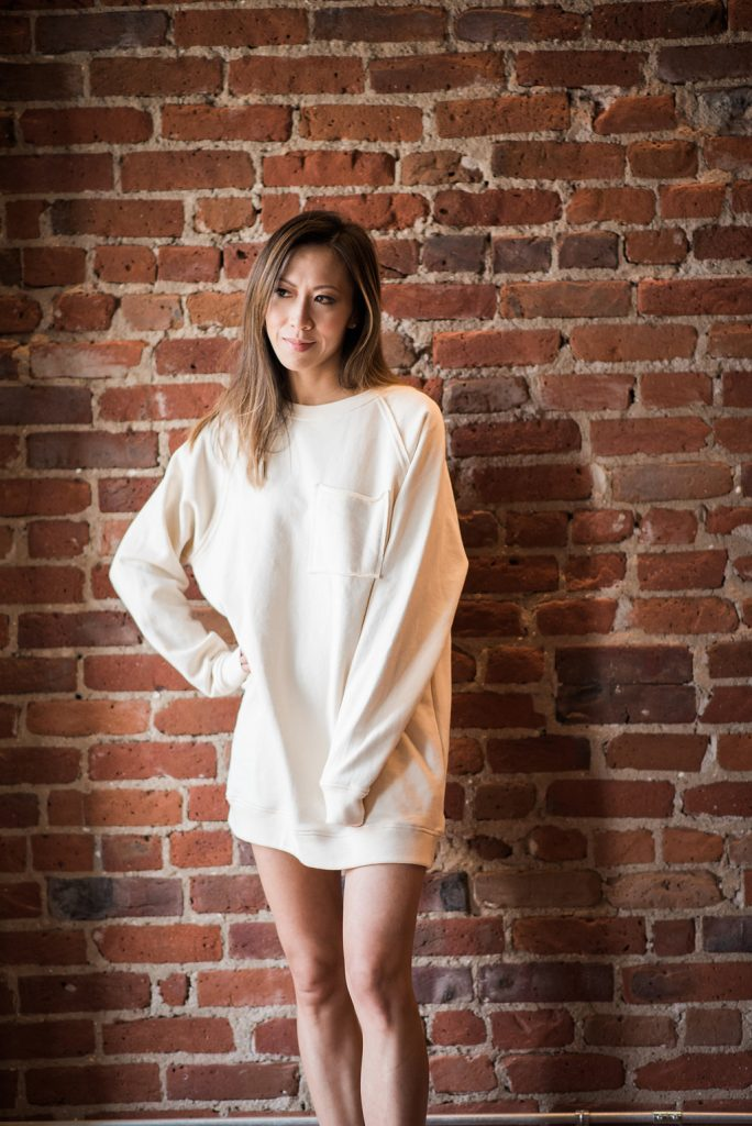 sweatshirt, sweater dress, athleisure
