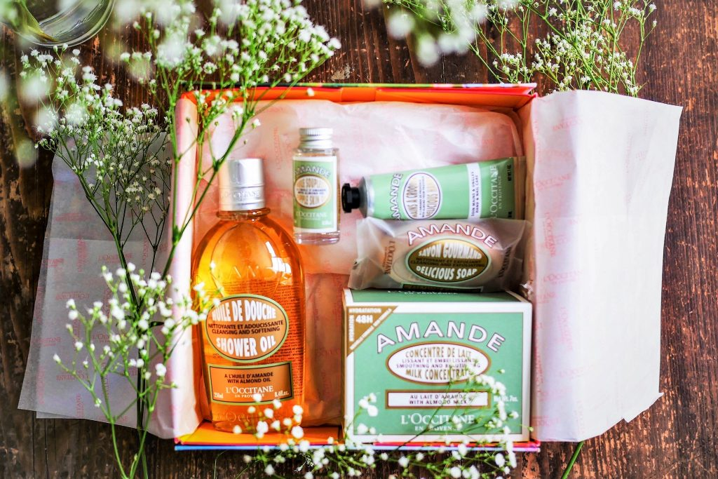 L'Occitane en Provence almond gift set mother's day