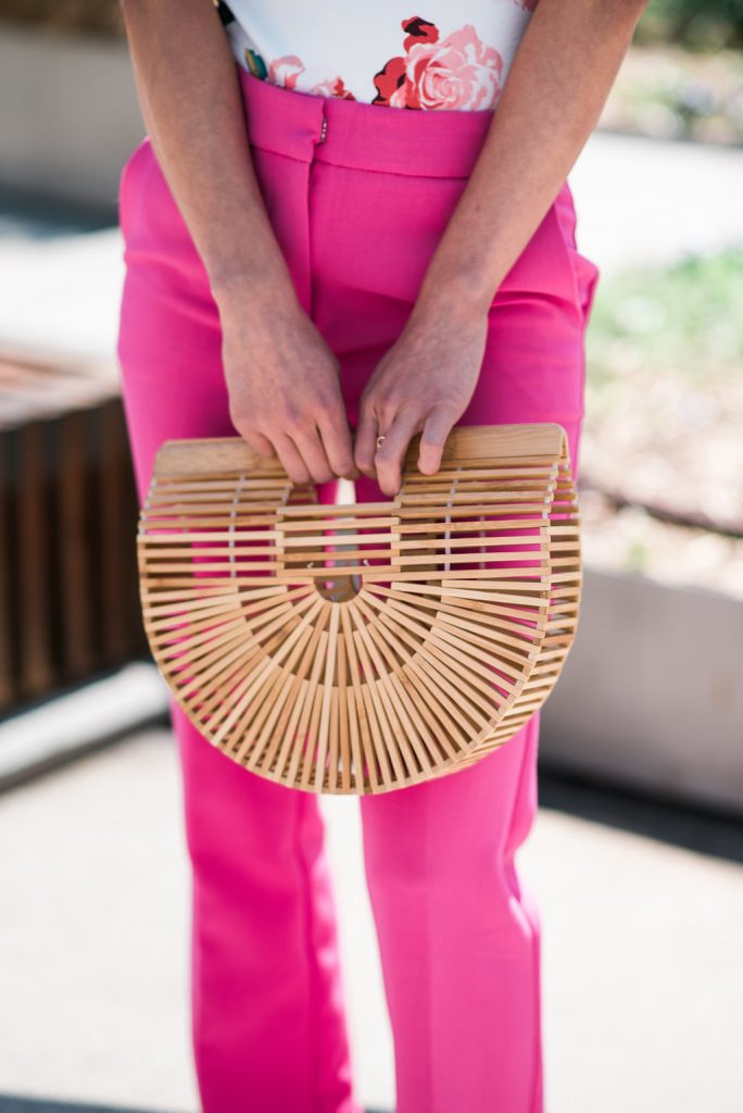 Cult Gaia Ark bag bamboo