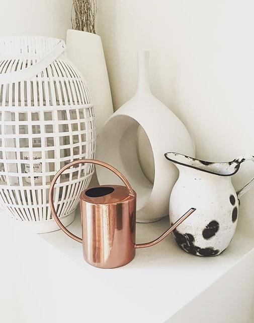 White and Copper