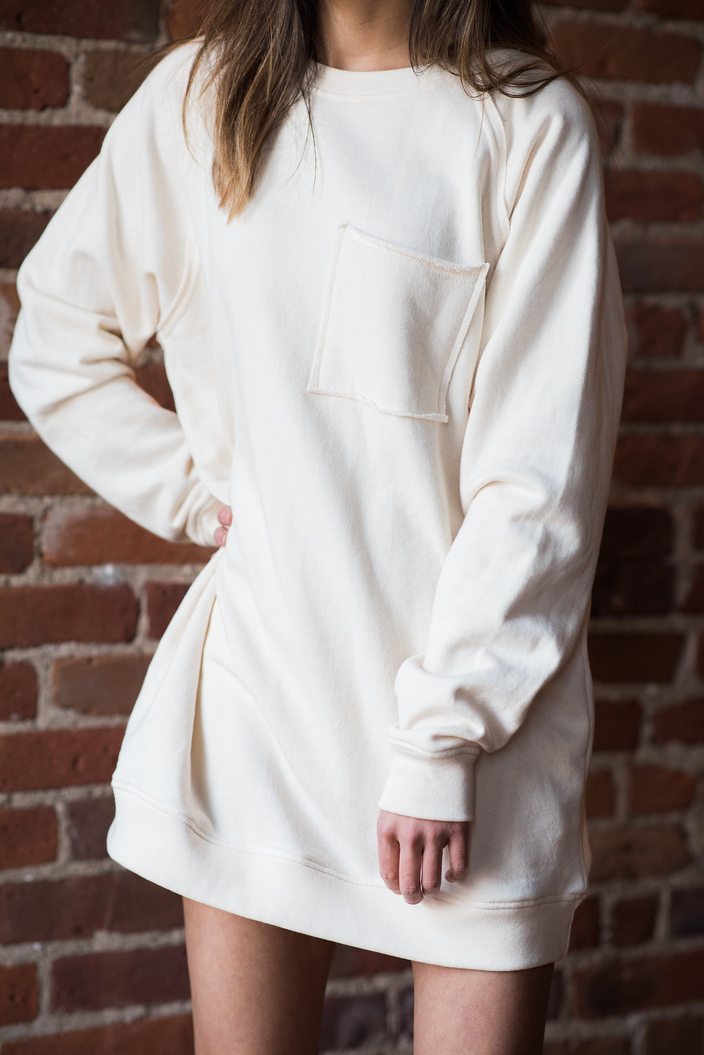 Athleisure love: sweater dress