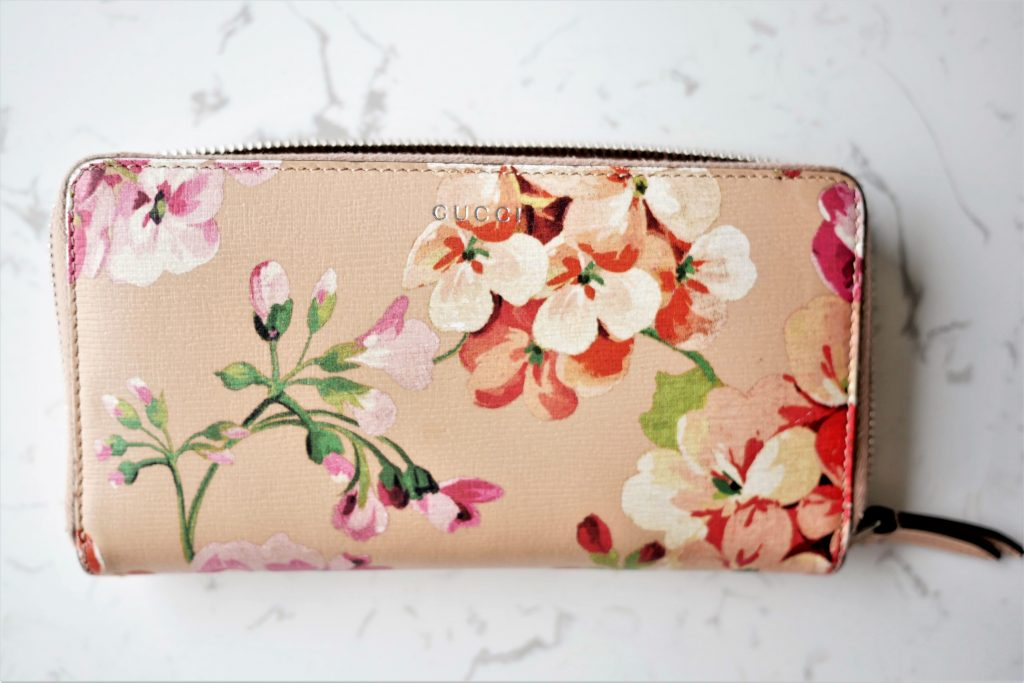 Gucci Blooms wallet review