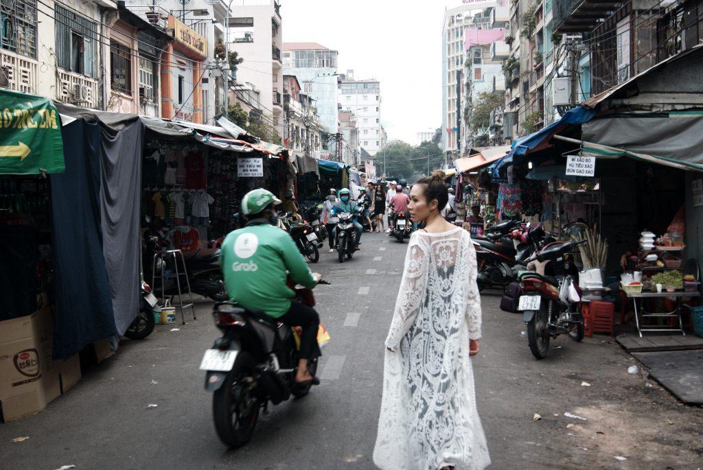 Shein outfit lace kimono city chic